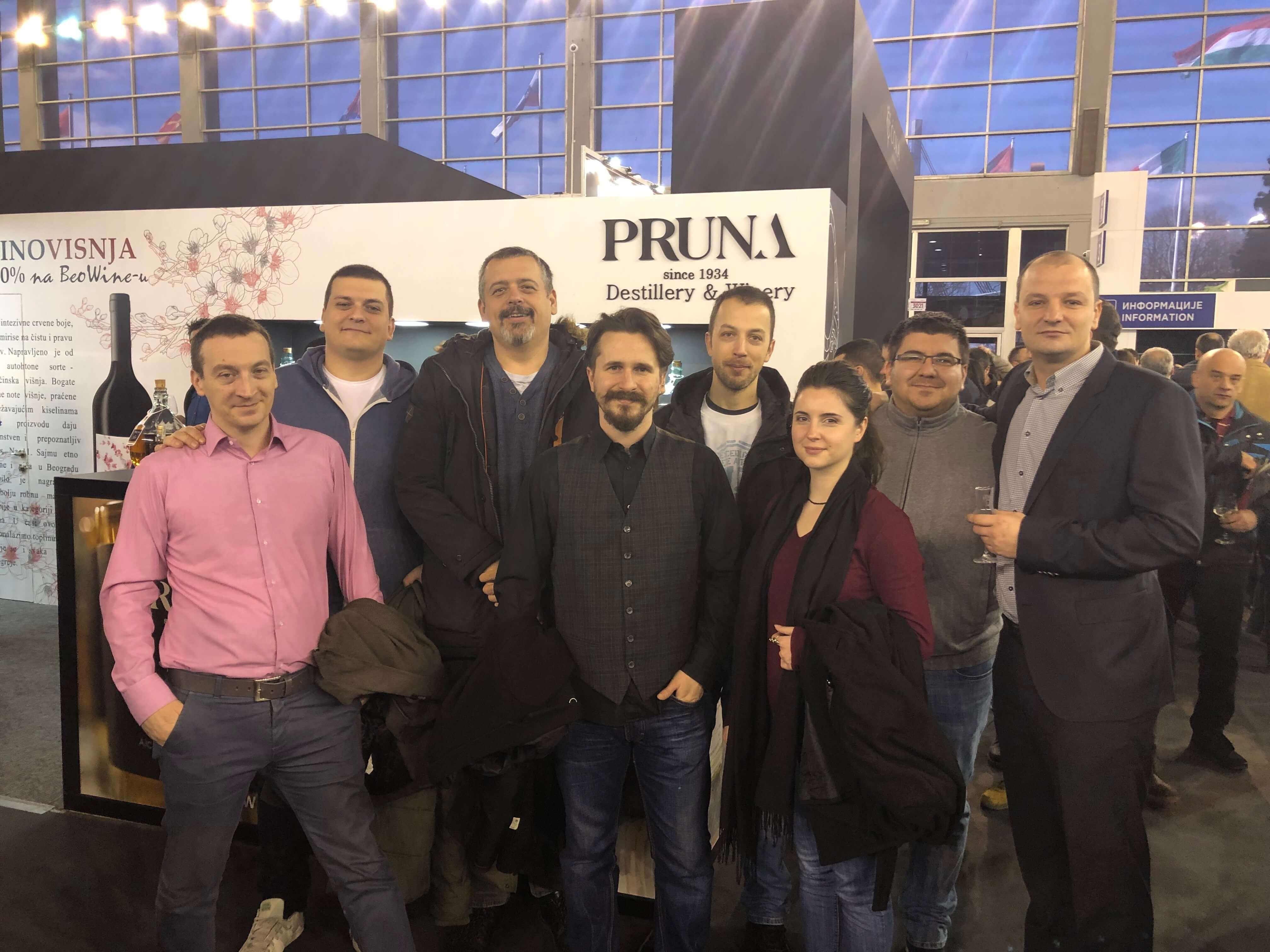 ACTIV8 meets Pruna at Belgrade's Food and Drinks Fair